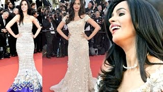 Cannes Film Festival 2017 - Mallika Sherawat Rules The Red Carpet In Mermaid Gown