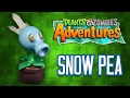 DIY SNOW PEA | HIELAGUISANTES Cold Porcelain / Polymer Clay Tutorial | PLANTS VS ZOMBIES ADVENTURES