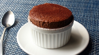 Chocolate Soufflé - How to Make Chocolate Soufflé for Two by Food Wishes