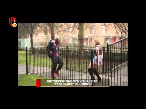 HIPTV NEWS - ORITSEFEMI SHOOTS VISUALS FOR 'REDI DANCE' IN LONDON (Nigerian Entertainment News)