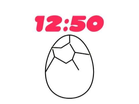 Video of Clock Widget Baby Chick Free
