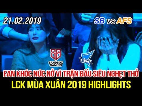 [LCK 2019] SB vs AFS Game 2 Highlights | Khán giả khóc nức nở khi thấy con quái vật đã thức tỉnh - Thời lượng: 11:53.