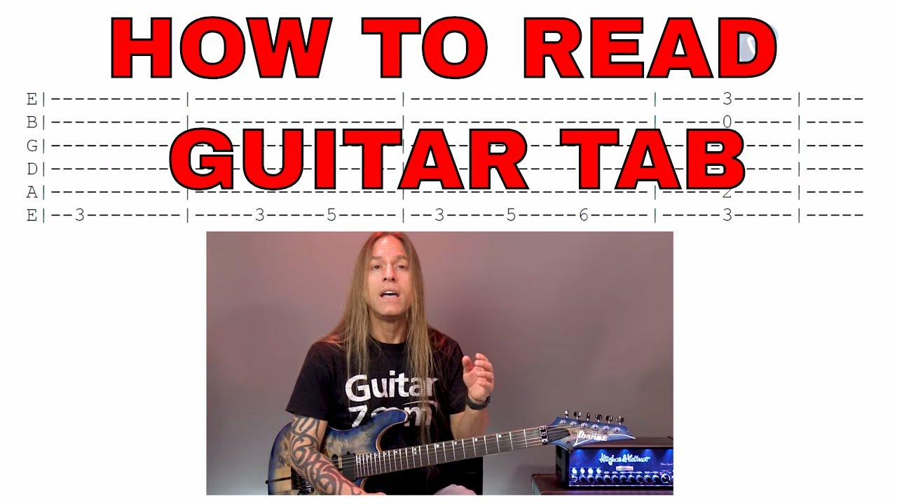 How to Read Guitar Tab | The Basics | Steve Stine Beginner Guitar Lessons