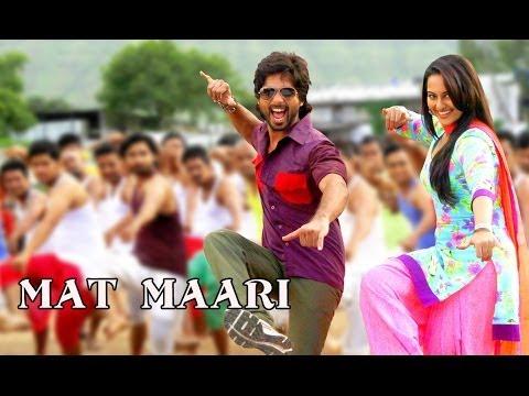 Video Mat Maari Song ft.Shahid Kapoor & Sonakshi Sinha | R..Rajkumar download in MP3, 3GP, MP4, WEBM, AVI, FLV January 2017