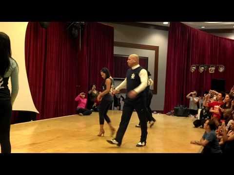 Salsa NY - обучающее видео с уроком сальсы на счет 2