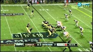 Tyler Eifert vs FSU (2011)