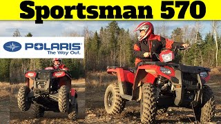 2. Polaris Sportsman 570 Review  (after owning for 1 year)  Pros & Cons of EBS/EPS