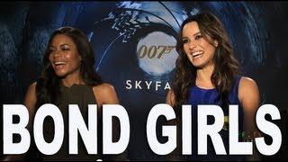 007 Skyfall Interview with Bond Girls Berenice Marlohe & Naomie Harris
