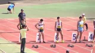 関東新人100mに桐生祥秀登場!!
