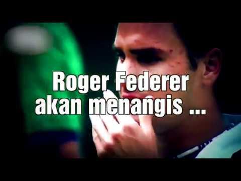 Roger Federer akan menangis ...