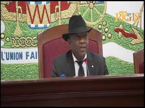 Parlement haïtien / Séance en Assemblée Nationale / 6 Juin 2017