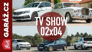 Video GARÁŽ.cz 02x04 - Octavia BSR 301, RR Silver Shadow, Clio Williams+Yaris GRMN+Polo GTI a Mercedes A MP3, 3GP, MP4, WEBM, AVI, FLV Juni 2018