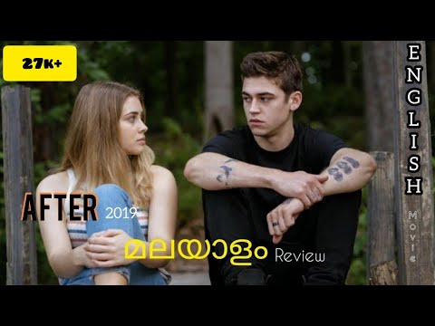 AFTER (2019) english movie malayalam short review full explained (romantic movie)