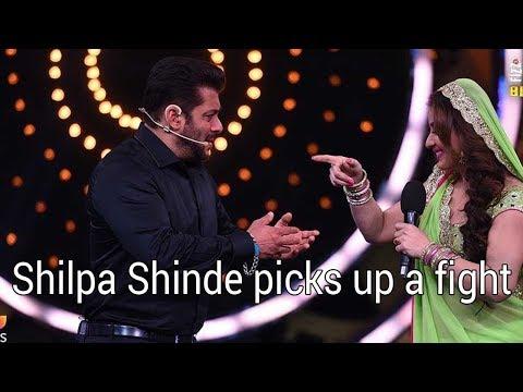 Bigg Boss 11: Salman Khan welcomes contestants, Shilpa Shinde picks up a fight