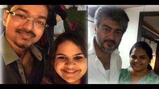 Vidyu Leka Raman confused as Ajith or Vijay