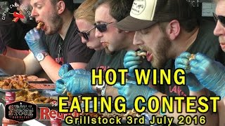 Frank's Red Hot Wing Eating Competition - Grillstock 3rd July 2016