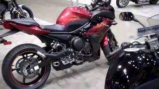 9. Yamaha FZ6R - 2011