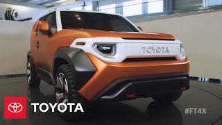 Video Designing the Toyota FT-4X Concept    NYIAS 2017   Toyota MP3, 3GP, MP4, WEBM, AVI, FLV Desember 2017