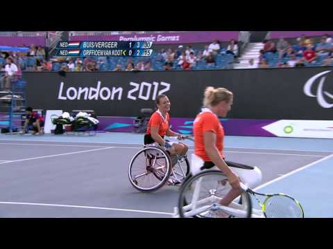 Wheelchair Tennis – Women's Doubles Gold Medal – NED versus NED – London 2012 Paralympic Games