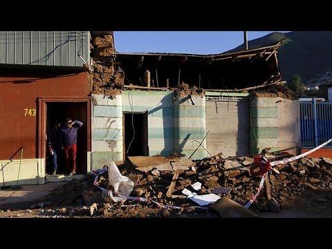 Χιλή: Ήρθη ο συναγερμός για τσουνάμι μετά τα 8,3R