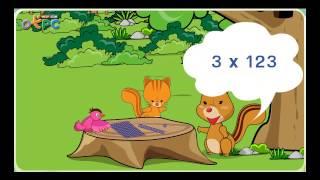 สื่อการเรียนการสอน การคูณจำนวนที่มีหนึ่งหลักกับจำนวนที่มีสามหลัก ป.3 คณิตศาสตร์