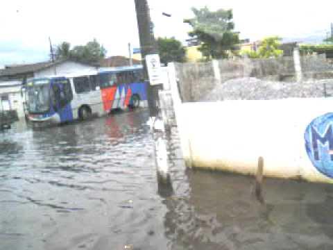 Enchente em São Vicente