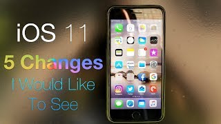 """iOS 11 adds a lot of great features, but in my opinion it could use a few changes here and there.  I share with you five of them I think we could all benefit from.Buy the case in the Thumbnail:  http://amzn.to/2t2boxGGear I use and love:  http://kit.com/Zollotech/zollotech-gearSupport ZOLLOTECH on Amazon:  http://amzn.to/2jxmglNRecent Wallpaper:  http://imgur.com/a8IaxydOutro Music:  """"Sunday"""" by Otis McDonald - Available in the YouTube Create Audio LibraryWebsite: http://www.zollotech.comFollow me on Google+ : http://google.com/+zollotechFollow me on Twitter: http://www.twitter.com/zollotechFacebook page: http://www.facebook.com/zollotechInstagram:  https://www.instagram.com/aaronzollo"""