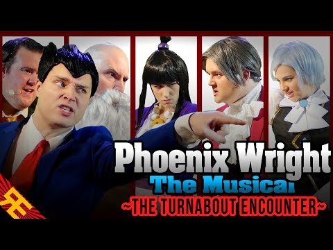 """Phoenix Wright the Musical SUPERCUT (""""The Turnabout Encounter"""")"""
