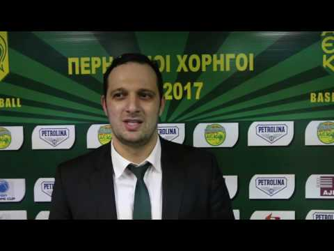 Interview after winning Cyprus cup