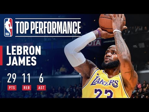 Video: LeBron James SHINES Against Houston   February 21, 2019