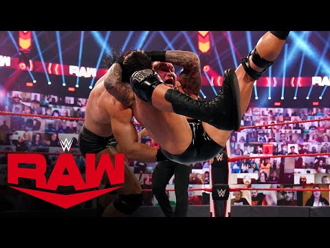 Drew McIntyre & The Street Profits vs. Randy Orton, Dolph Ziggler & Robert Roode: Raw, Oct. 5, 2020