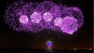 Fireworks Show - FWsim Simulator - Crystallize, Lindsey Stirling