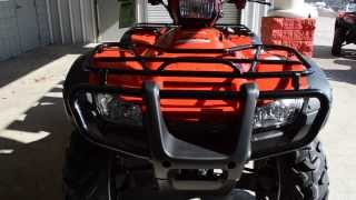 6. 2014 FourTrax Rubicon Power Steering ATV SALE / Honda of Chattanooga TN - TRX500FPA