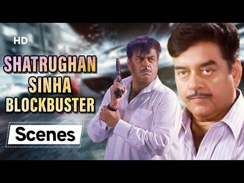Shatrughan Sinha blockbuster scenes | Aan Men At Work - Bollywood Scenes