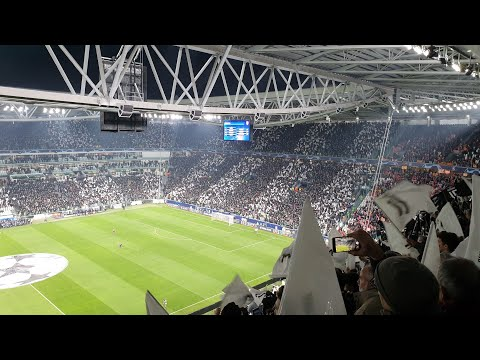 Juventus Fans Making Amazing Atmosphere Vs Atletico Madrid