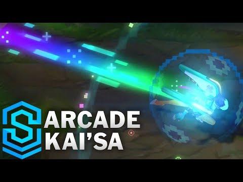 Kai'Sa Giả Lập - Arcade Kai'Sa