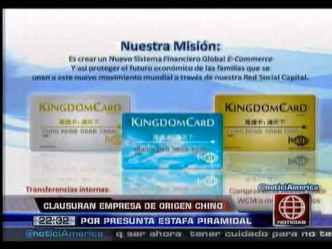 América Noticias: 14.01.14- Clausuran empresa china por presunta estafa piramidal
