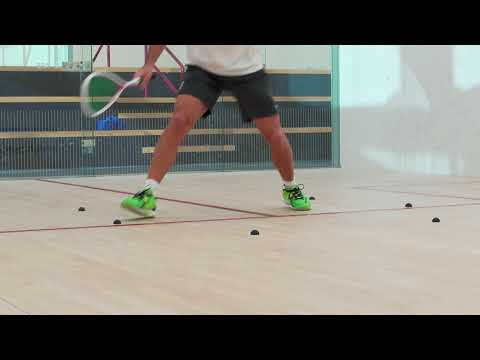 Squash tips: Approaching the ball with Thierry Lincou