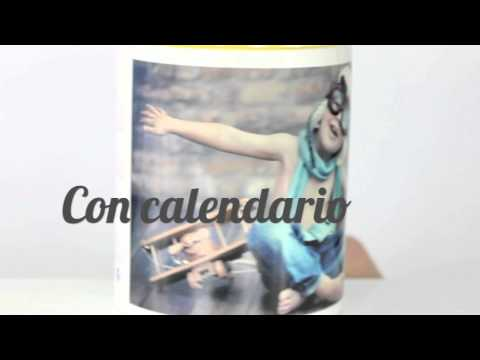 Taza de cerámica personalizada con foto - Video 1