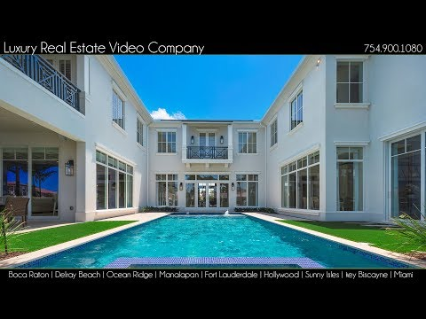 BOCA RATON Luxury Real Estate Video Company, PALM BEACH, FORT LAUDERDALE, MIAMI