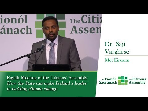 Dr. Saji Varghese - Session 5: Current Status of Climate in Ireland - Met Éireann