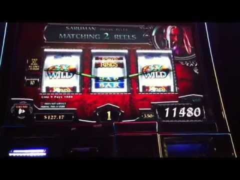 Max Bet Big Win Lord of the Rings Land of Mordor Slot Machine Bonus Free Spins