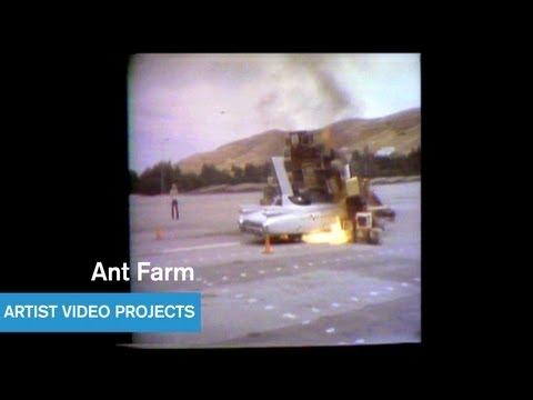 Art - Ant Farm Media Burn (1975)