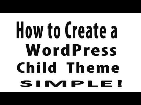 How to Create a WordPress Child Theme – Twenty Thirteen Theme or Any Theme!