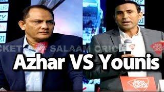 #SalaamCricket18: Mohd Azharuddin & Younis Khan On India-Pakistan Superhit Mukabla   #IndvPak