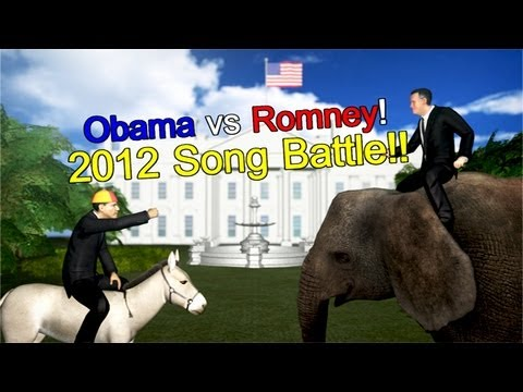 NMATV - Are you an undecided voter? Let singing Obama and rapping Romney help you make a decision! The November 6 presidential election of 2012 is just weeks away. D...
