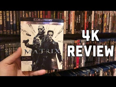 The Matrix 4K UltraHD Blu-ray Review | Dolby Vision HDR | Dolby Atmos Audio
