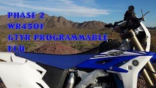 10. WR450F Phase 2: GYTR Programmable ECU 2012 2013 2014 2015 GYTR Yamaha WR450