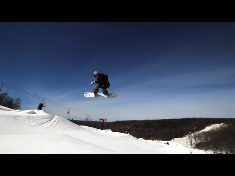 Snowboarding - A Pure Michigan Winter