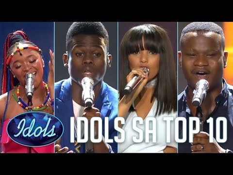 Top 10 FINALISTS ON Idols South Africa 2017!